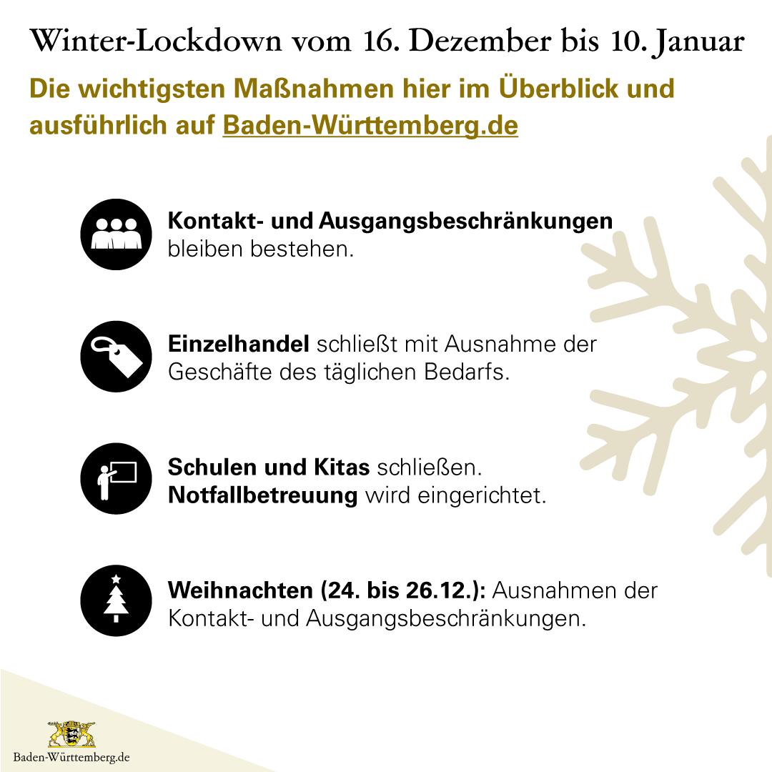 Winter Lockdown In Baden Wurttemberg Gemeinde Weingarten Baden